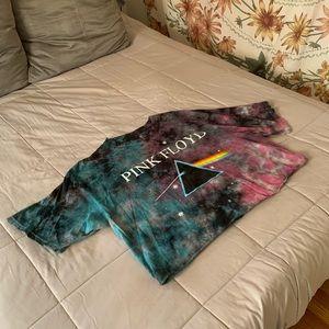 Aerospace Pink Floyd Tie-Dye Graphic Tee